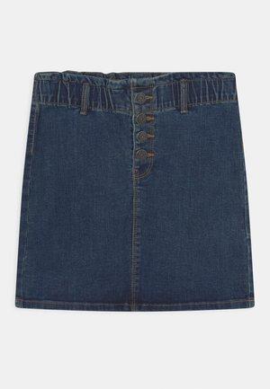 NKFBECKY - Mini skirt - medium blue denim