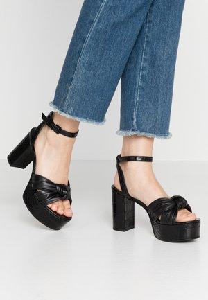 GISELLE - High heeled sandals - schwarz
