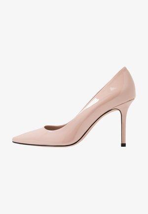 INES - Lodičky na vysokém podpatku - open pink