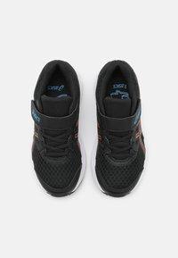 ASICS - JOLT 3 UNISEX - Zapatillas de running neutras - black/reborn blue - 3