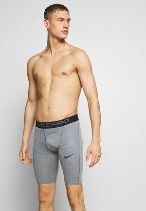 SHORT LONG - Legginsy - smoke grey/light smoke grey/black