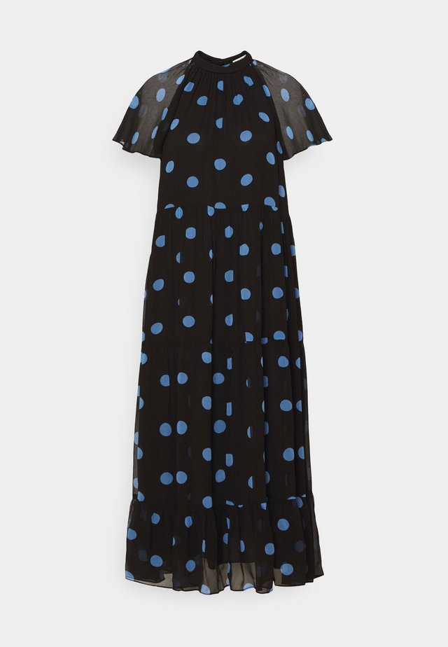 MARGIE SPOT DRESS - Vardagsklänning - black/multi