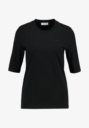 ROUND NECK CLASSIC TEE - T-shirts basic - black