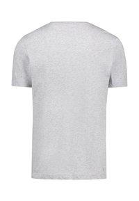 Lacoste Sport - BIG LOGO - T-shirt med print - mottled grey - 1