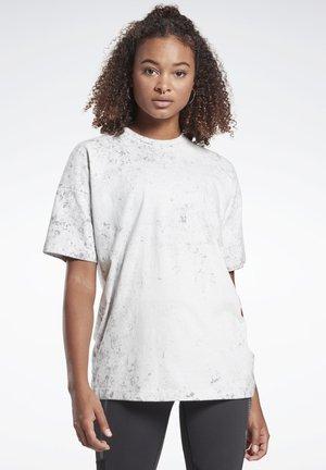 LES MILLS® TEE - Print T-shirt - grey