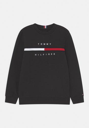 FLAG INSERT  - Sweatshirt - black
