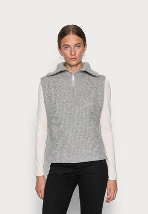 SLFKALLY VEST - Trui - light grey melange