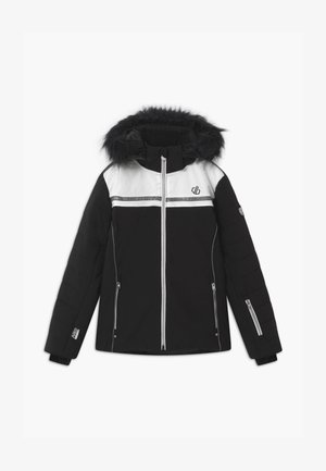 ESTIMATE UNISEX - Snowboard jacket - black/white