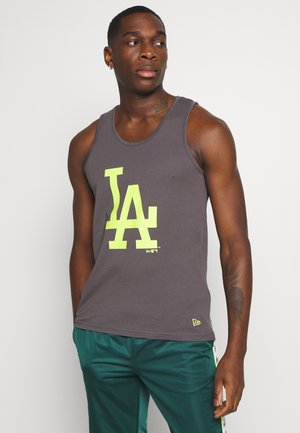 MLB LOS ANGELES DODGERS SEASONAL TEAM LOGO TANK - Top - dark grey