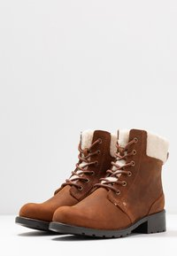 Clarks - ORINOCO DUSK - Lace-up ankle boots - tan - 4