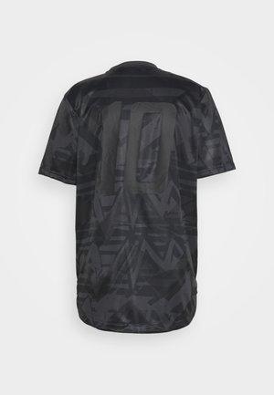 TAN - Print T-shirt - carbon/black