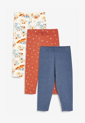 3 PACK - Leggings - Trousers - orange
