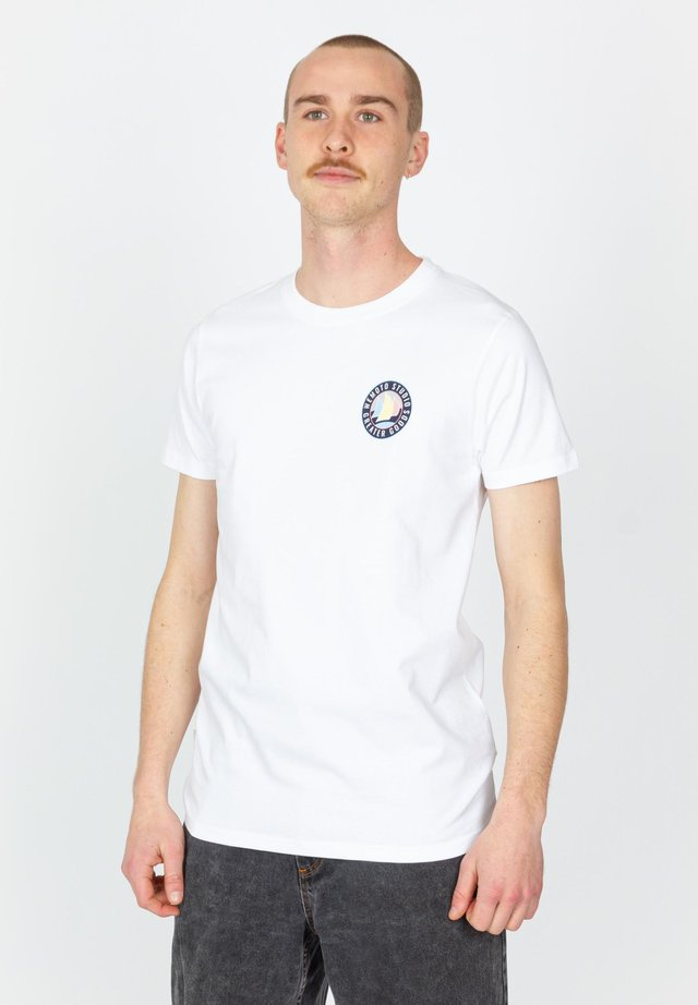 GREATER - T-shirt print - white