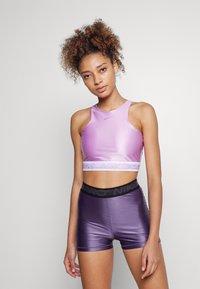 Nike Performance - TANK - Débardeur - violet shock/white - 1