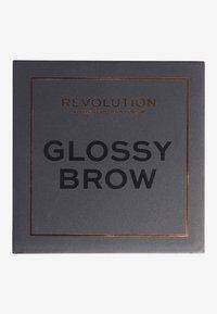Make up Revolution - REVOLUTION GLOSSY BROW KIT - Eyebrow powder - dark - 3