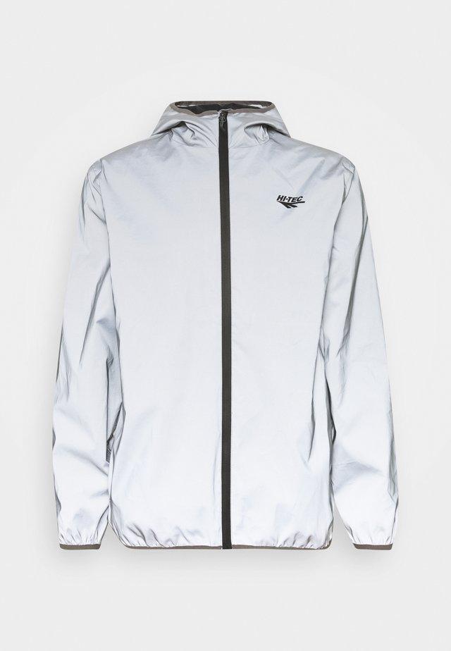 YEWBARROW - Hardshell jacket - reflective silver