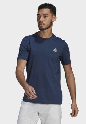 TENNIS GRAPHIC MELBOURNE T-SHIRT - T-Shirt print - blue