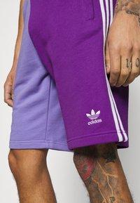 adidas Originals - BLOCKED UNISEX - Short - active pur - 3