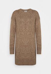 JDY - JDYCORDELIS DRESS  - Jumper dress - taupe gray/melange - 0