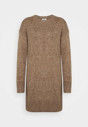 JDYCORDELIS DRESS  - Jumper dress - taupe gray/melange