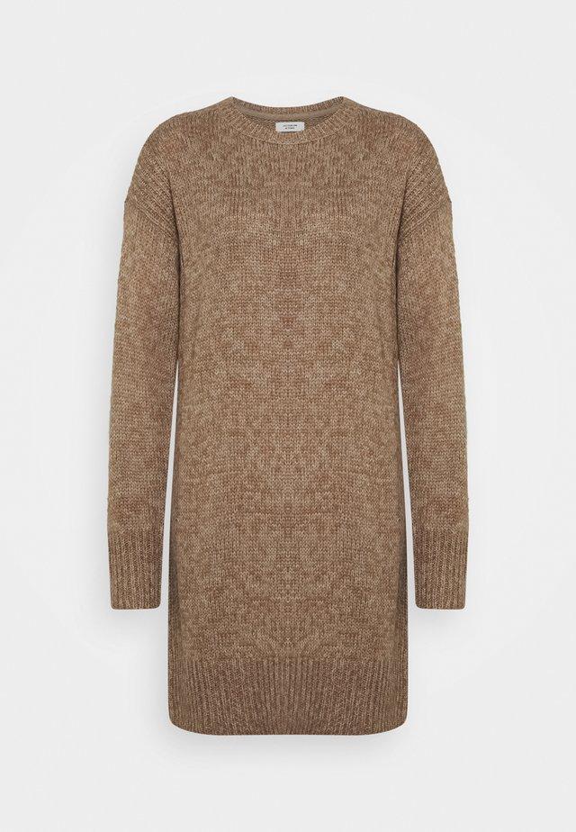JDYCORDELIS DRESS  - Jumper dress - taupe gray/melange