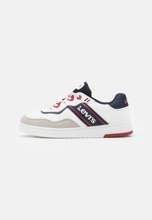 IRVING  - Sneakersy niskie - white/navy