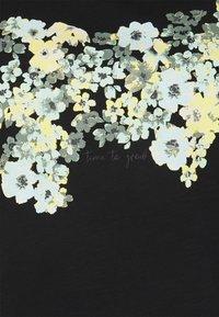 MY TRUE ME TOM TAILOR - FRONT ARTWORK - Print T-shirt - black - 2