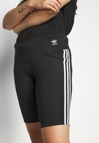 adidas Originals - TIGHT - Shorts - black/white - 6
