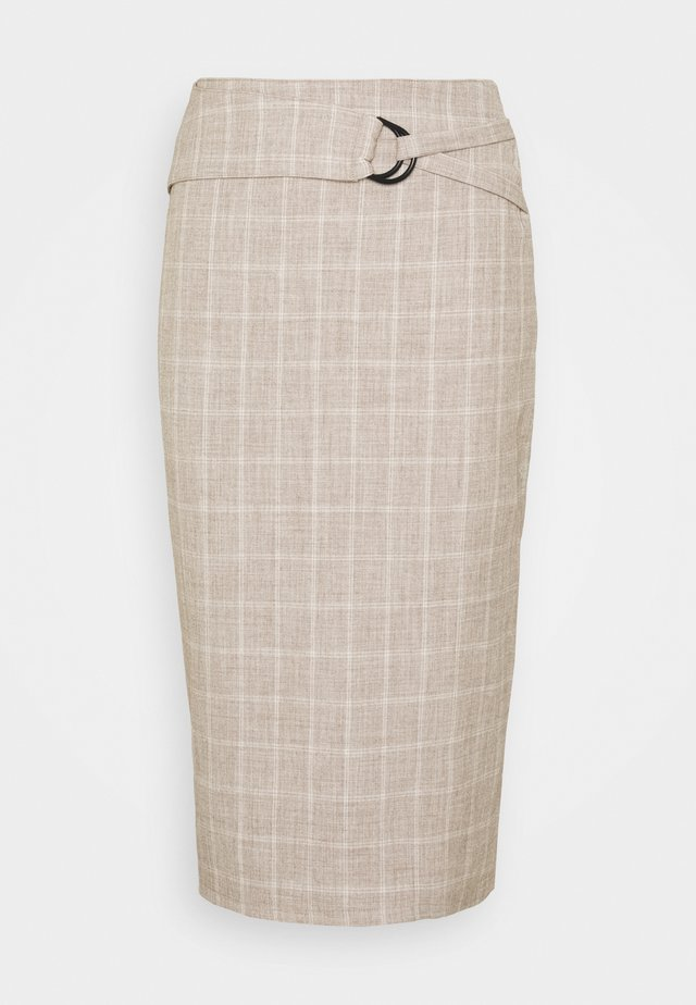 AGNES SKIRT - Pencil skirt - beige