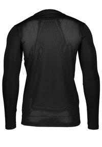 Nike Performance - T-shirt à manches longues - schwarzweiss - 1
