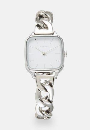 KATE REVOLT - Klocka - silver-coloured/white