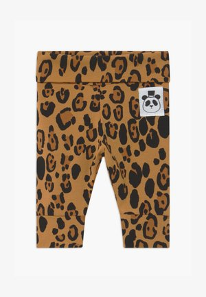 BABY BASIC LEOPARD - Leggings - Trousers - beige