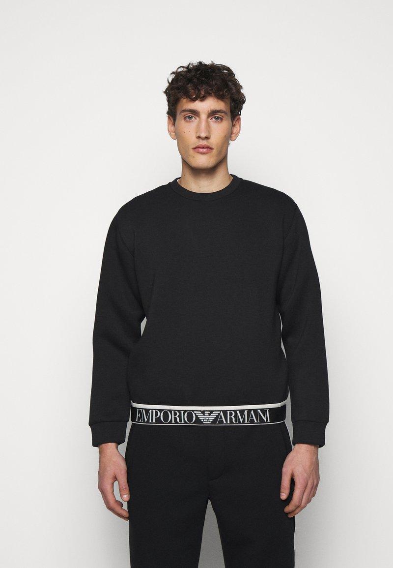Emporio Armani - Langarmshirt - black