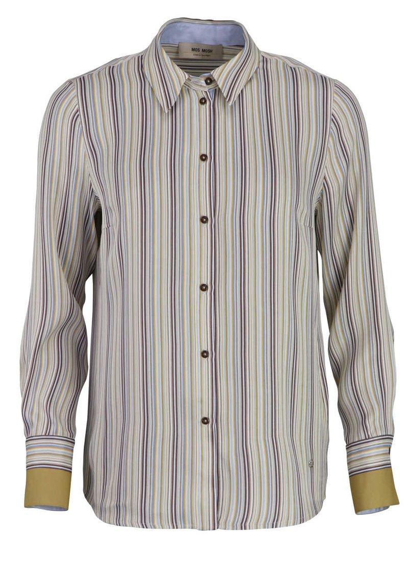 Mos Mosh - Button-down blouse - dunkelblau