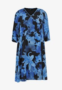 Yoek - Day dress - blue/black - 3