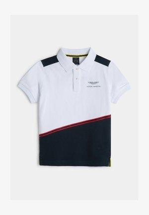 DIAG TAPE - Polo shirt - white/navy