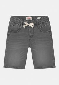 Vingino - CECARIO - Denim shorts - dark grey vintage - 0