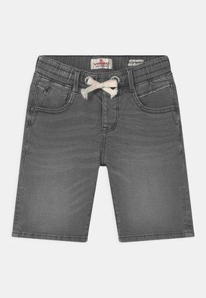 CECARIO - Denim shorts - dark grey vintage