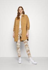 American Eagle - HIRISE JEGGING JOGGER - Trousers - beige - 1