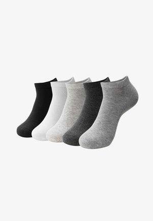 5 PACK - Sokken - black/white/grey