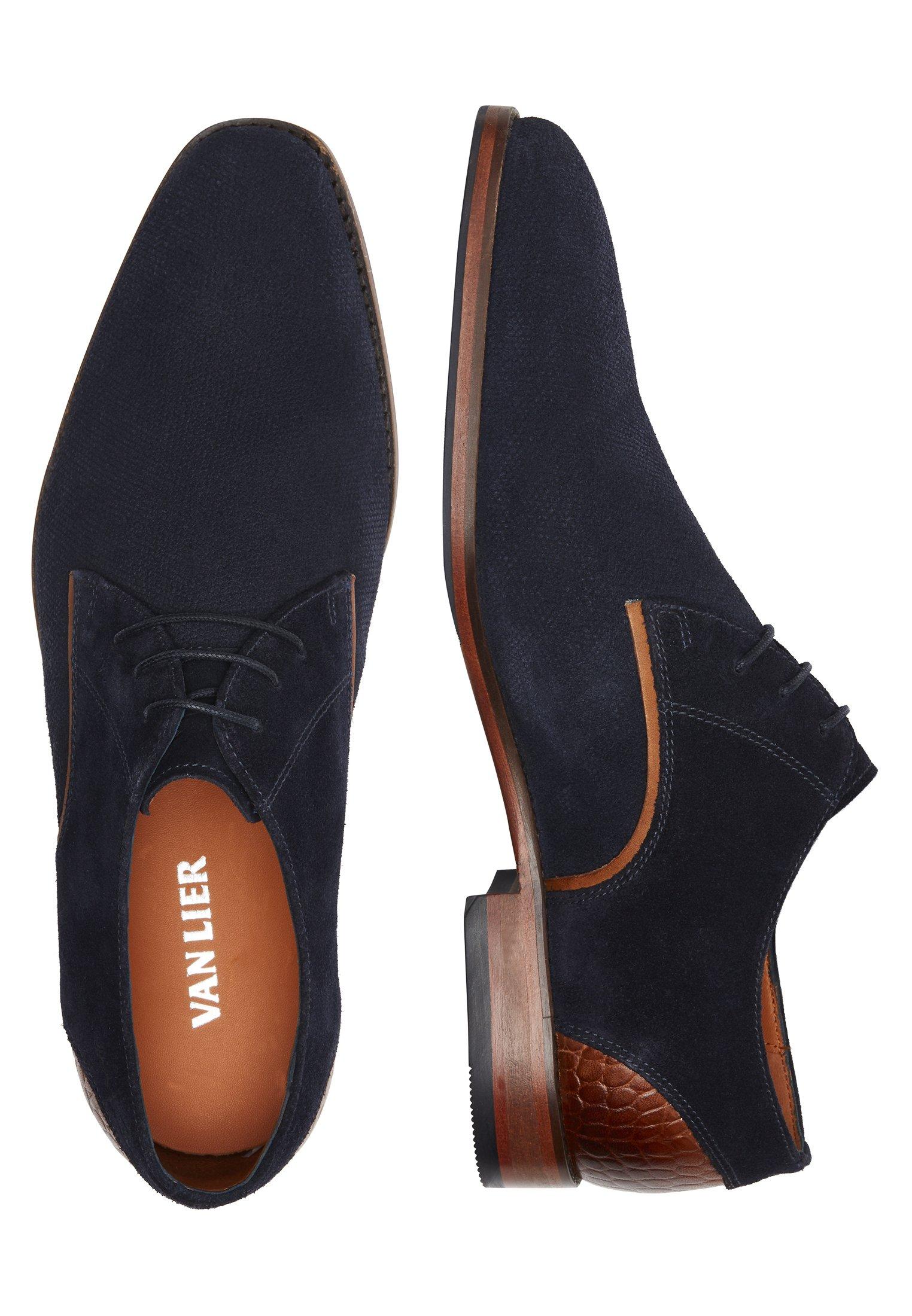 Van Lier Chaussures à lacets - zwart/noir - ZALANDO.BE