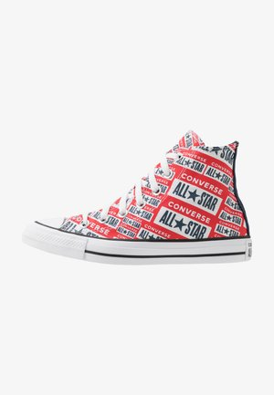 CHUCK TAYLOR ALL STAR  - Sneakersy wysokie - white/multicolor/black