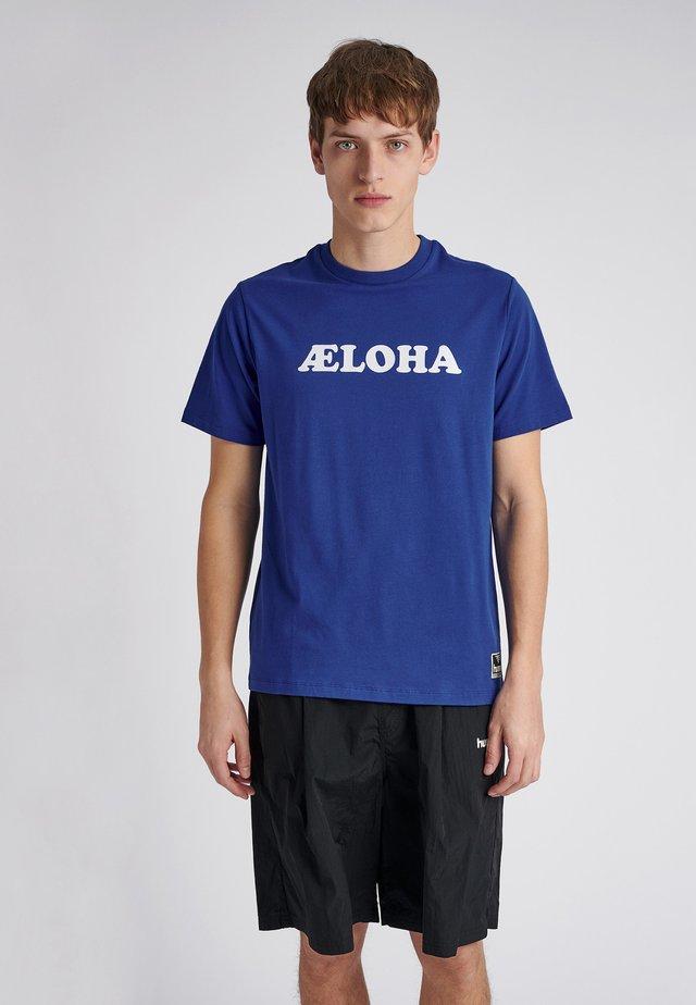 WEST COAST - T-Shirt print - mazarine blue