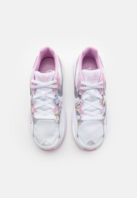 Nike Sportswear - AIR MAX FUSION - Baskets basses - white/metallic silver/light arctic pink - 3