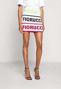 Fiorucci - LOGO SKIRT - Pencil skirt - white - 0
