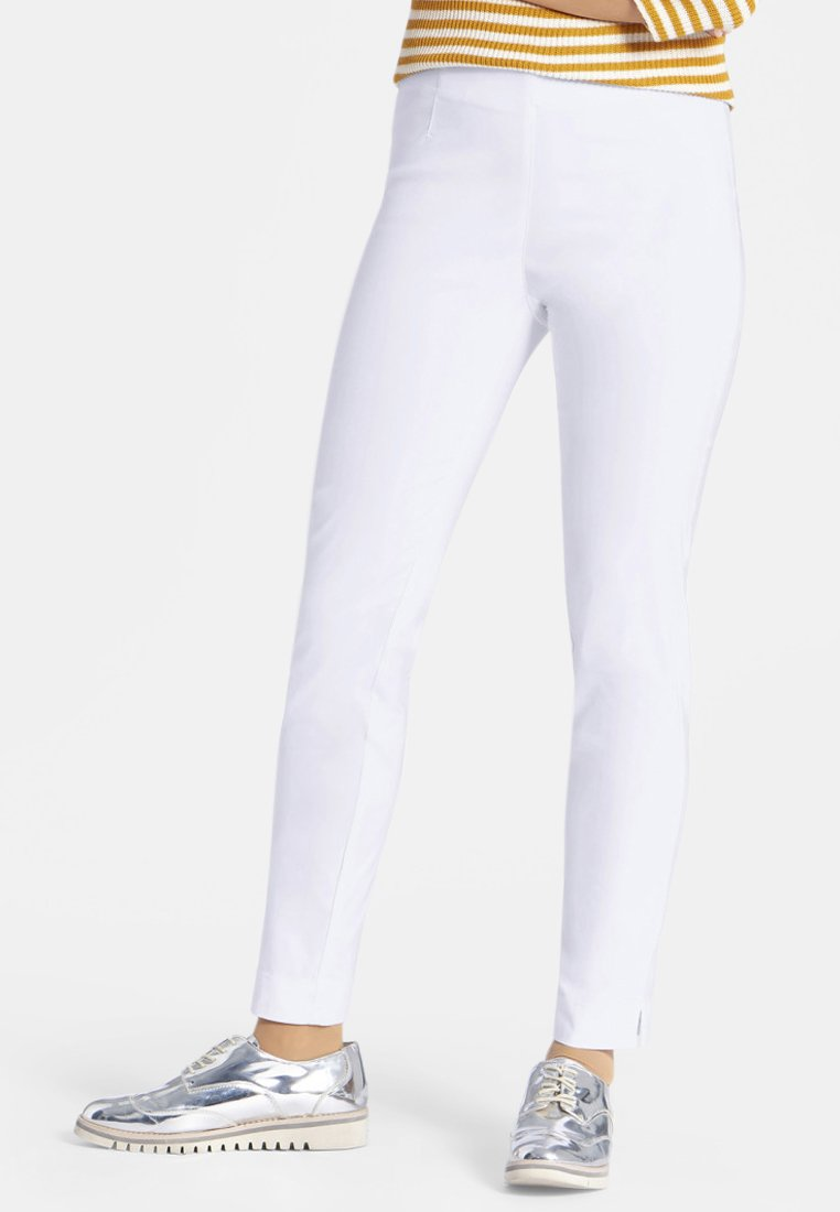 PETER HAHN - Trousers - white