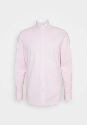 WASHED TICKING - Camicia - white/pink