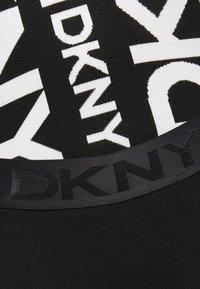 DKNY - FOUNDATION LOGO - Leggings - Trousers - black - 6