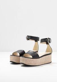 Vagabond - FELICIA - Platform sandals - black - 3