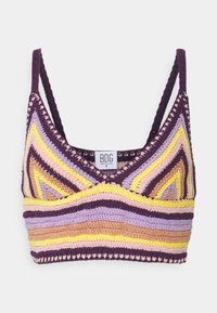BDG Urban Outfitters - CROCHET BRA TOP - Top - pink - 4